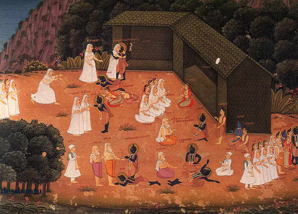 Bharata e Rama - 1745ca AD - Ramayana - LaDibi Online Dance Academy Magazine