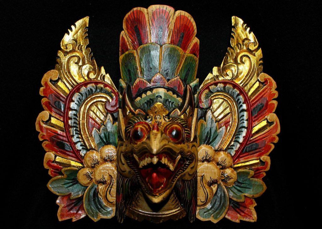 Garuda mask - LaDibi Online Academy