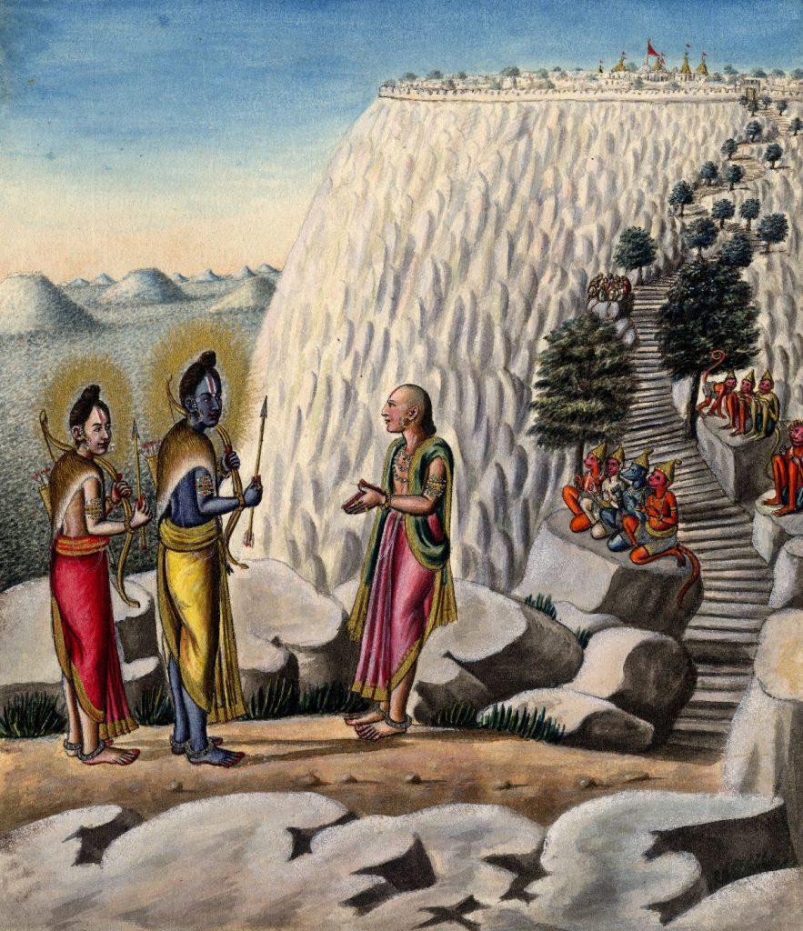 Ramayana - Hanuman incontra Rama - LaDibi Online Academy 7