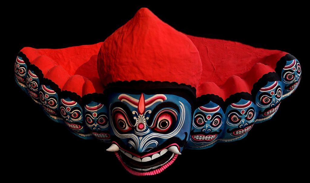 Ravana mask - LaDibi Online Academy
